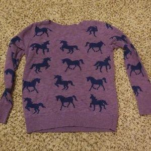 Mossimo Unicorn Sweater